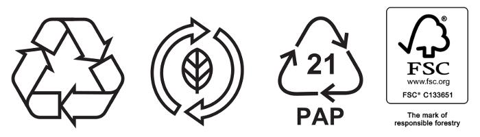 icone tipologia scaola ecologica