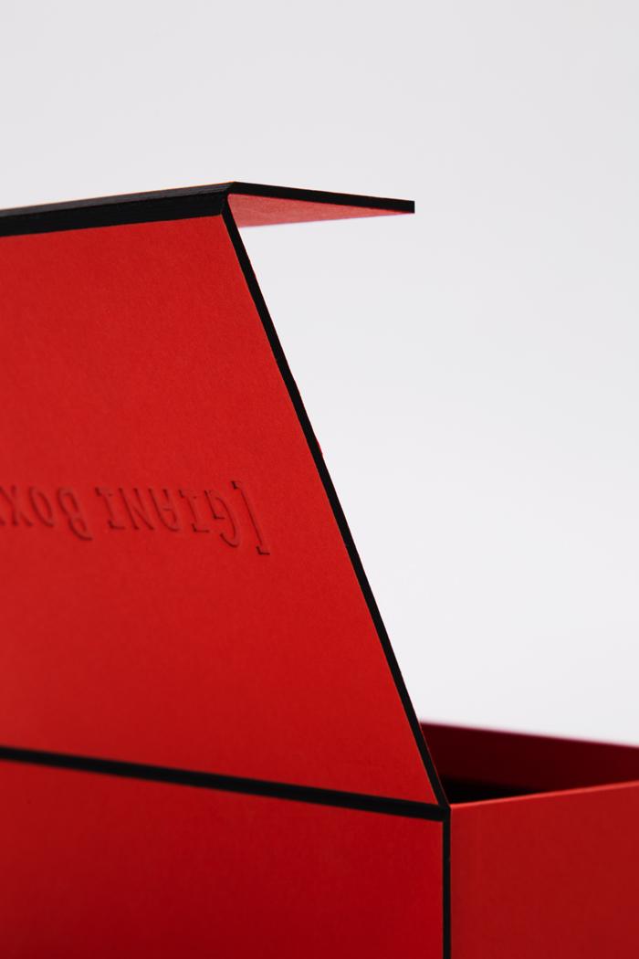 Tipologia scatole: Taglio vivo